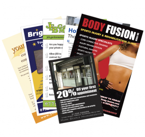 selection of leaflets